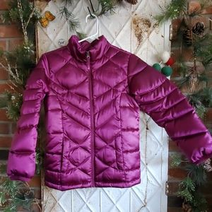 Girls Large North Face Down 550 Jacket coat 14 16